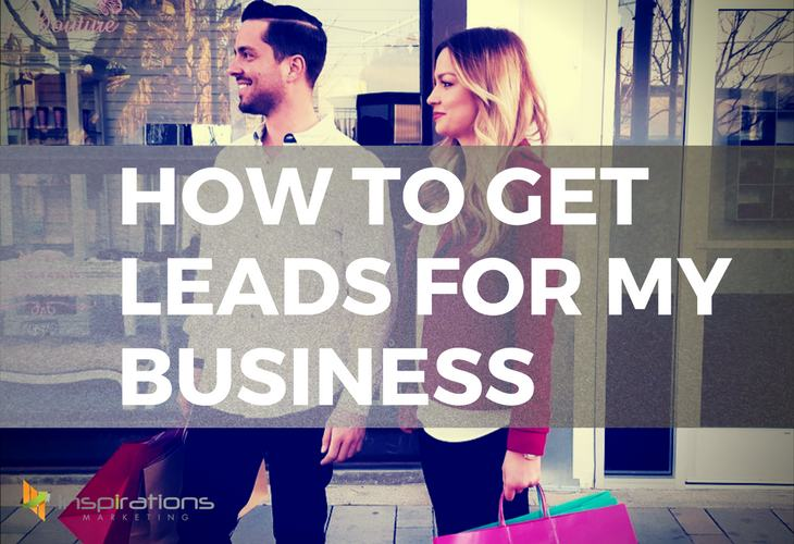 How to get leads for my business