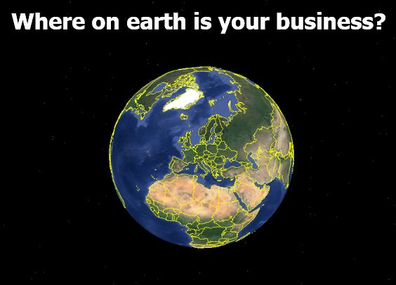 where on earth is your business